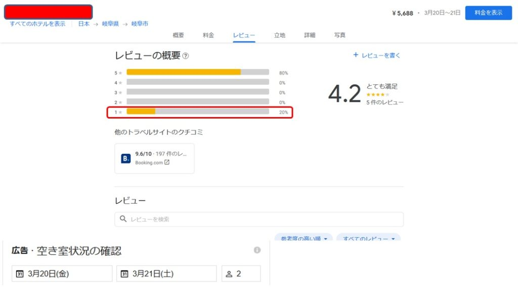Google評価