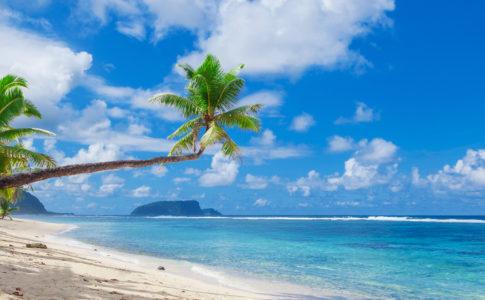 サモア島旅行