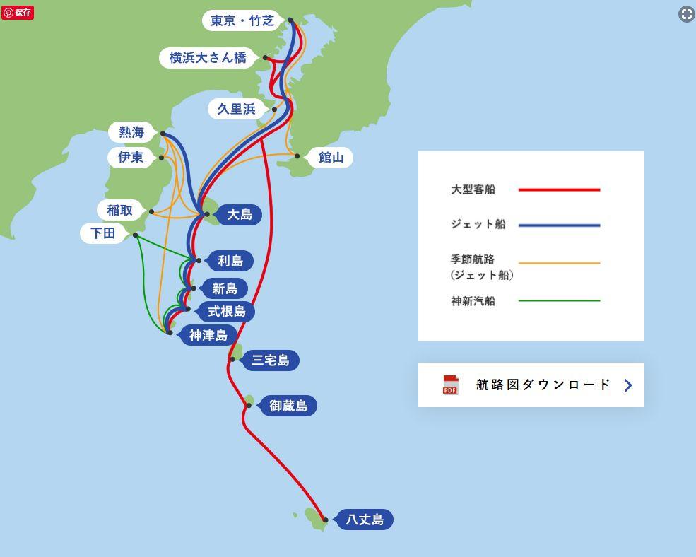 式根島への航路