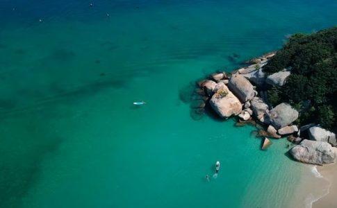柏島の海を上から見た写真