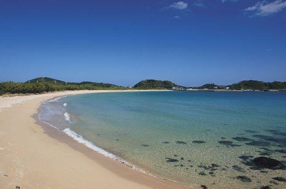 筒木浜海水浴場の海