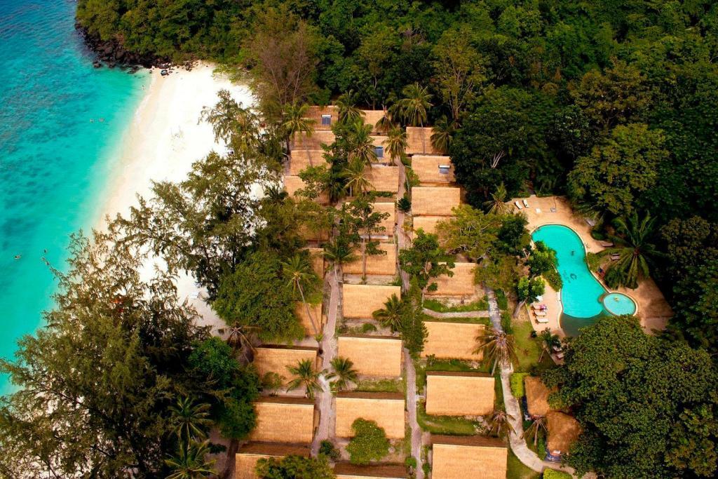 コーラル アイランド リゾートの上空写真