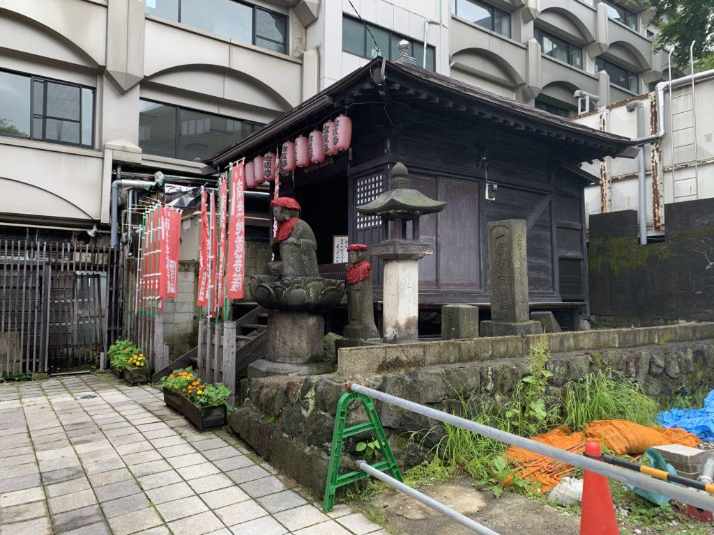 地蔵の湯 神社