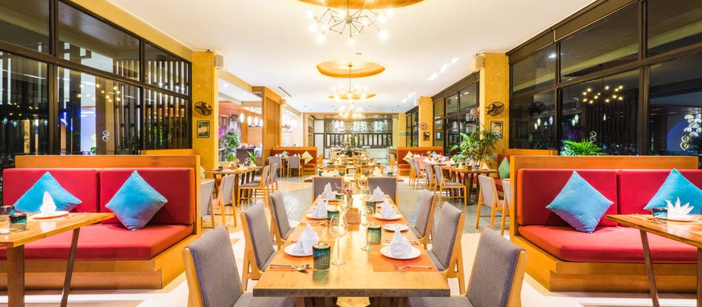 ザ センシズリゾート プール &   ヴィラズ内のレストラン