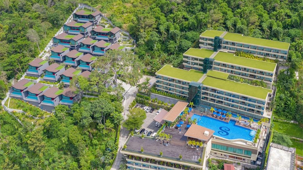 ザ センシズリゾート プール &   ヴィラズの上空写真