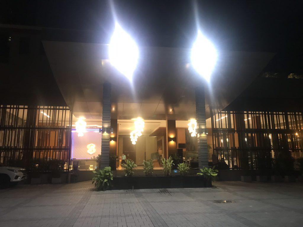ザ センシズリゾート プール &   ヴィラズの入口