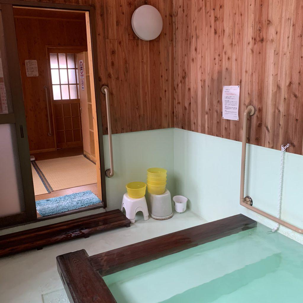 白嶺の湯 浴場