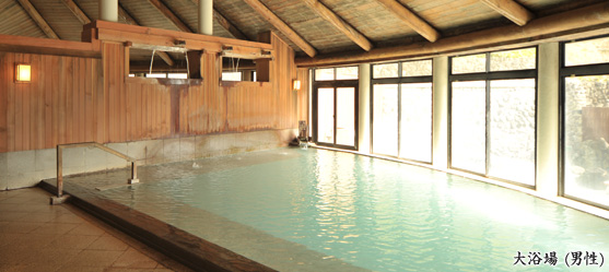 大滝乃湯の内風呂