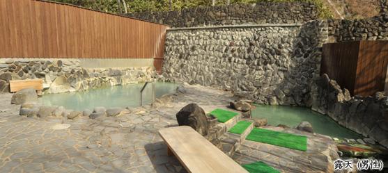 大滝乃湯の露天風呂