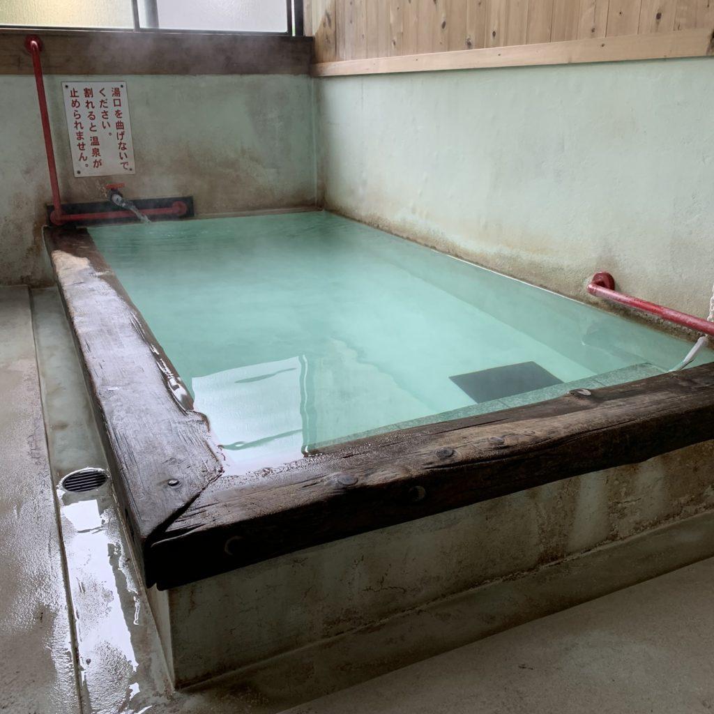 長寿の湯の浴槽