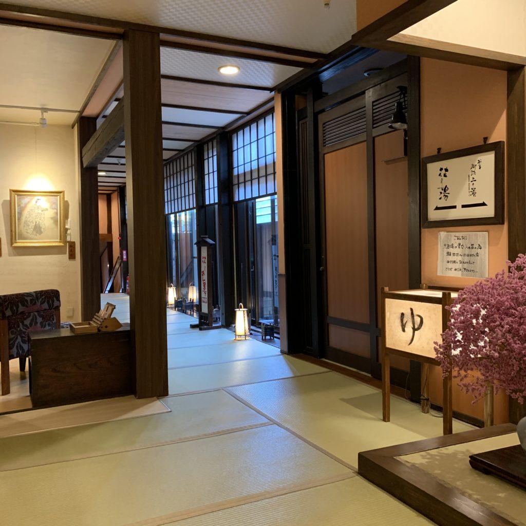 奈良屋の廊下