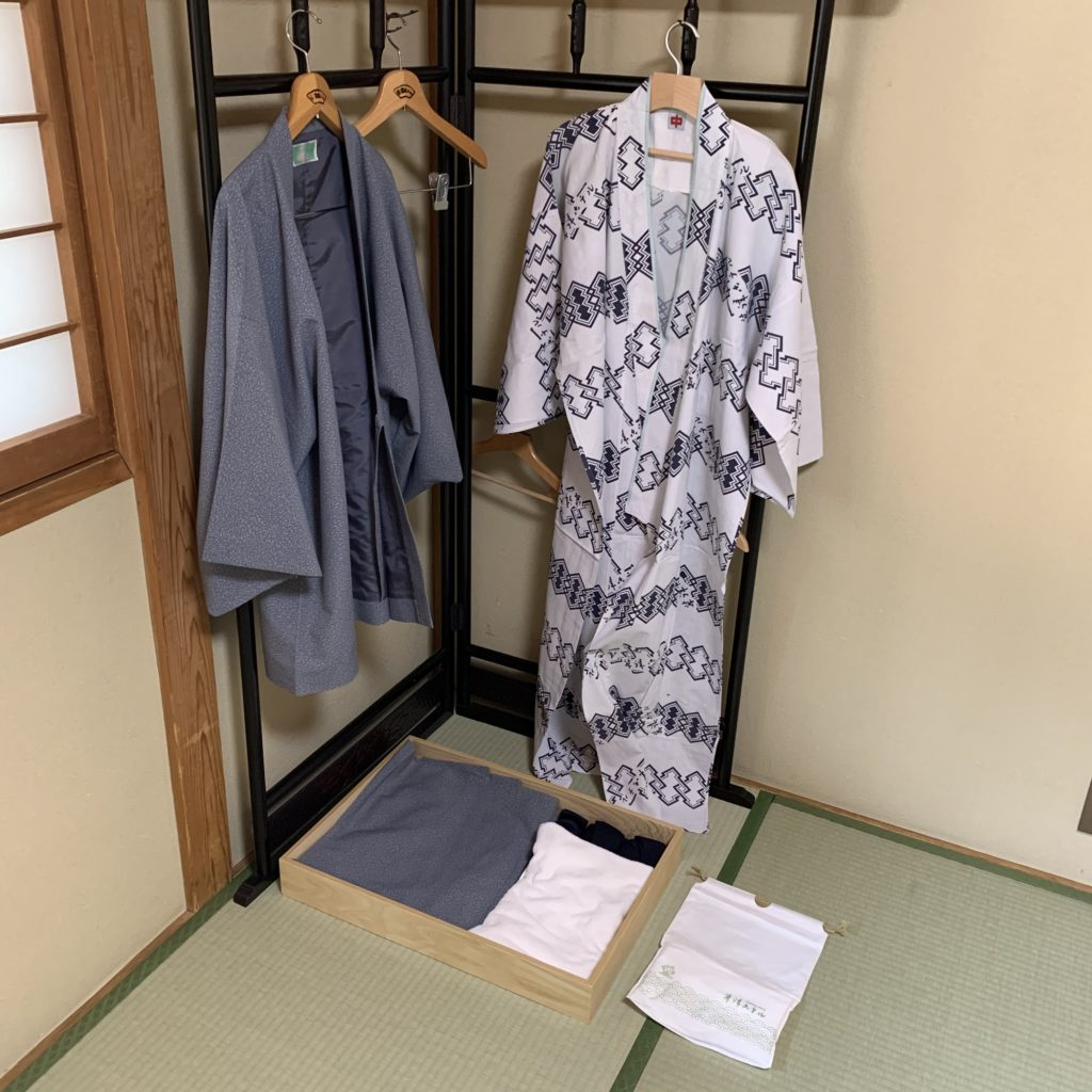 草津ホテル 浴衣のセット