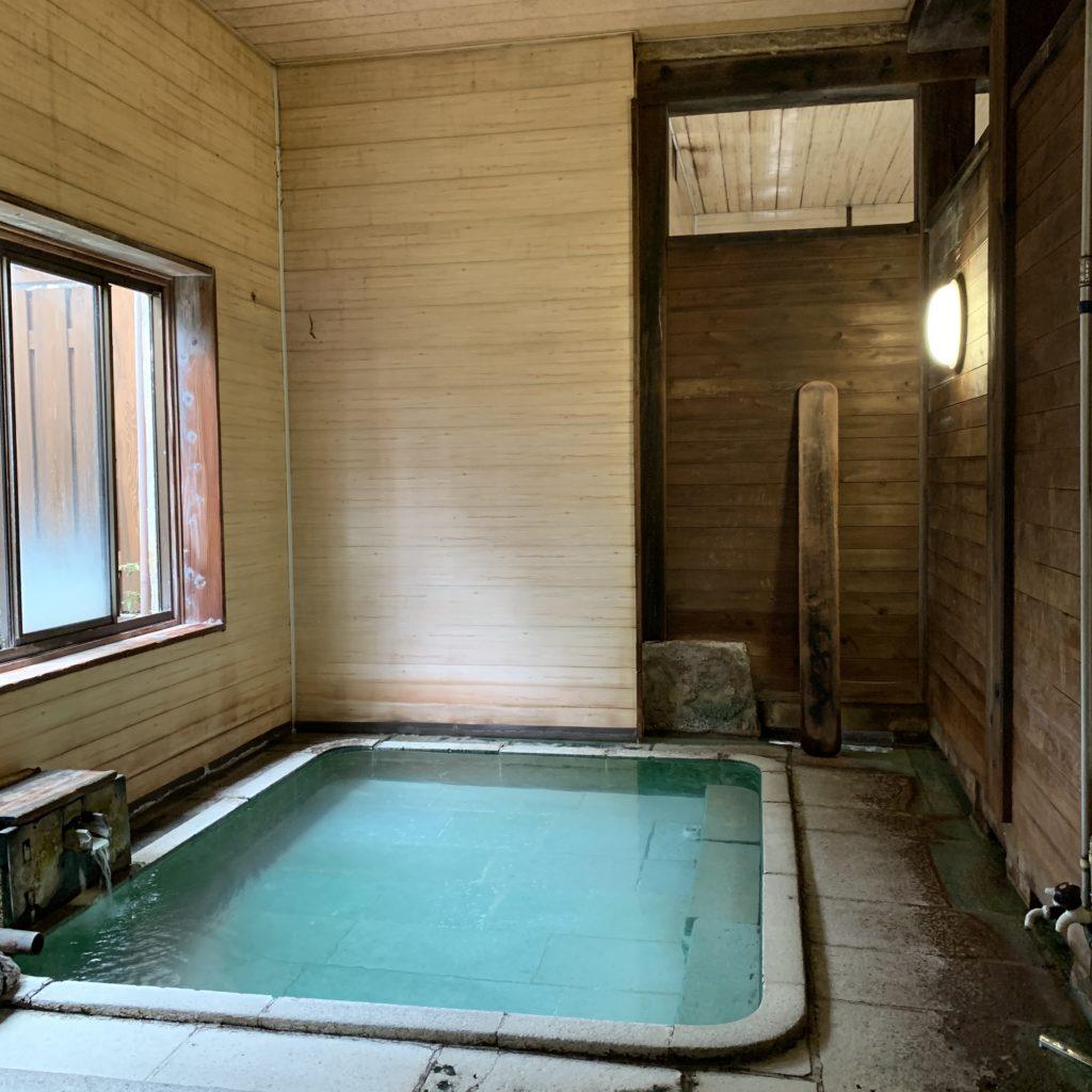 若乃湯の浴場内