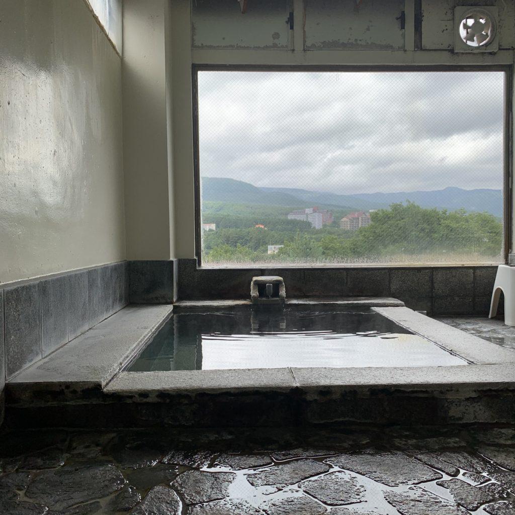 ふじ重の浴場
