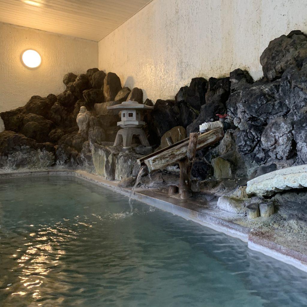 永田屋の温泉