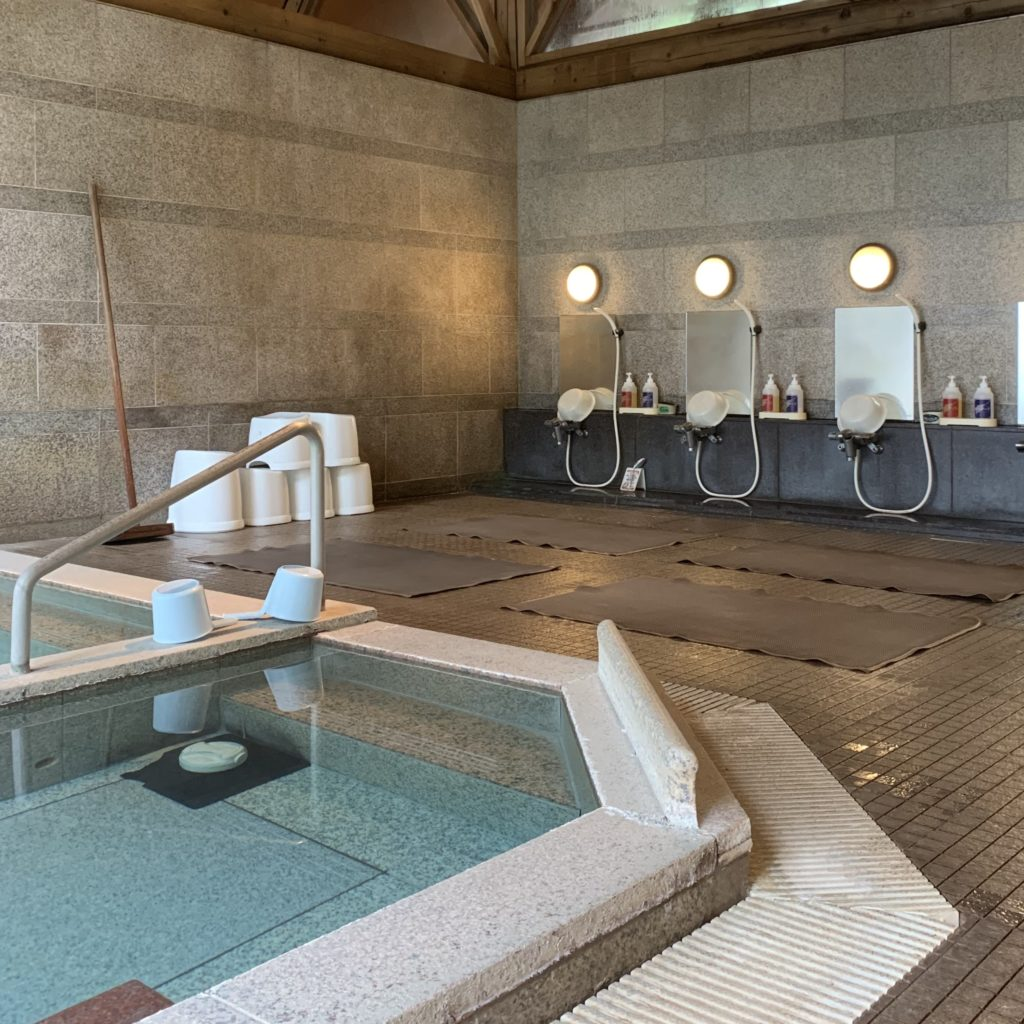 草津グリーンパークパレスの浴場