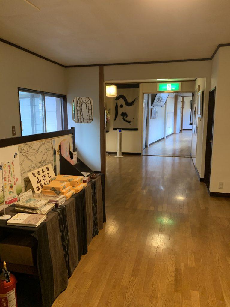 日新館の廊下