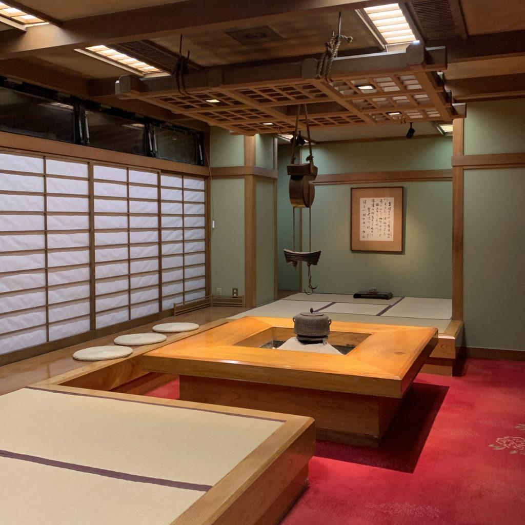 大阪屋の茶室