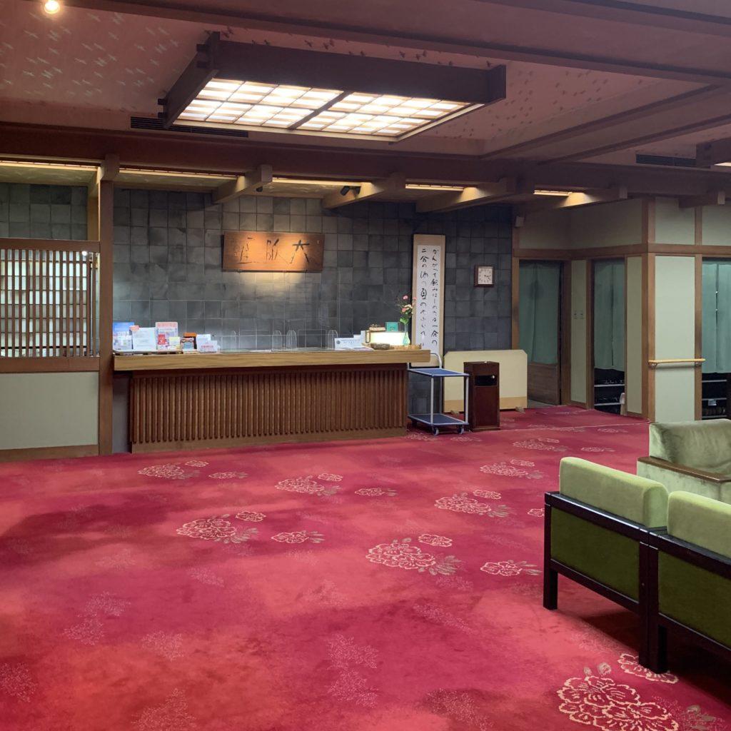 大阪屋のロビー