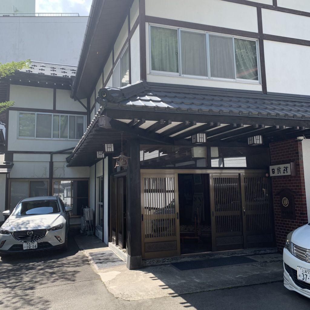 日新館の入口