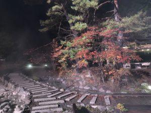 西の河原公園の紅葉