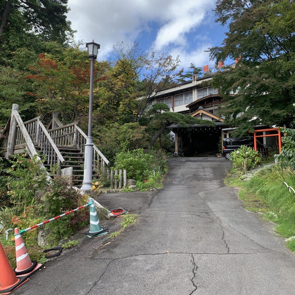 桐島屋旅館の外観