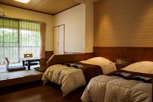 草津ナウリゾートホテルの客室(ツイン)