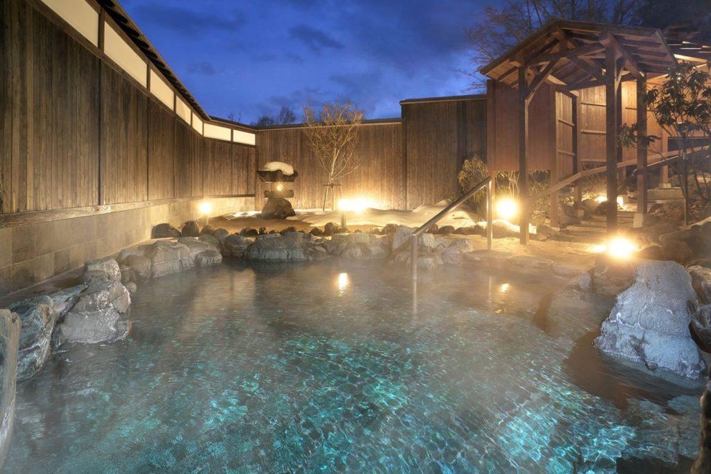草津温泉ホテルリゾートの露天風呂