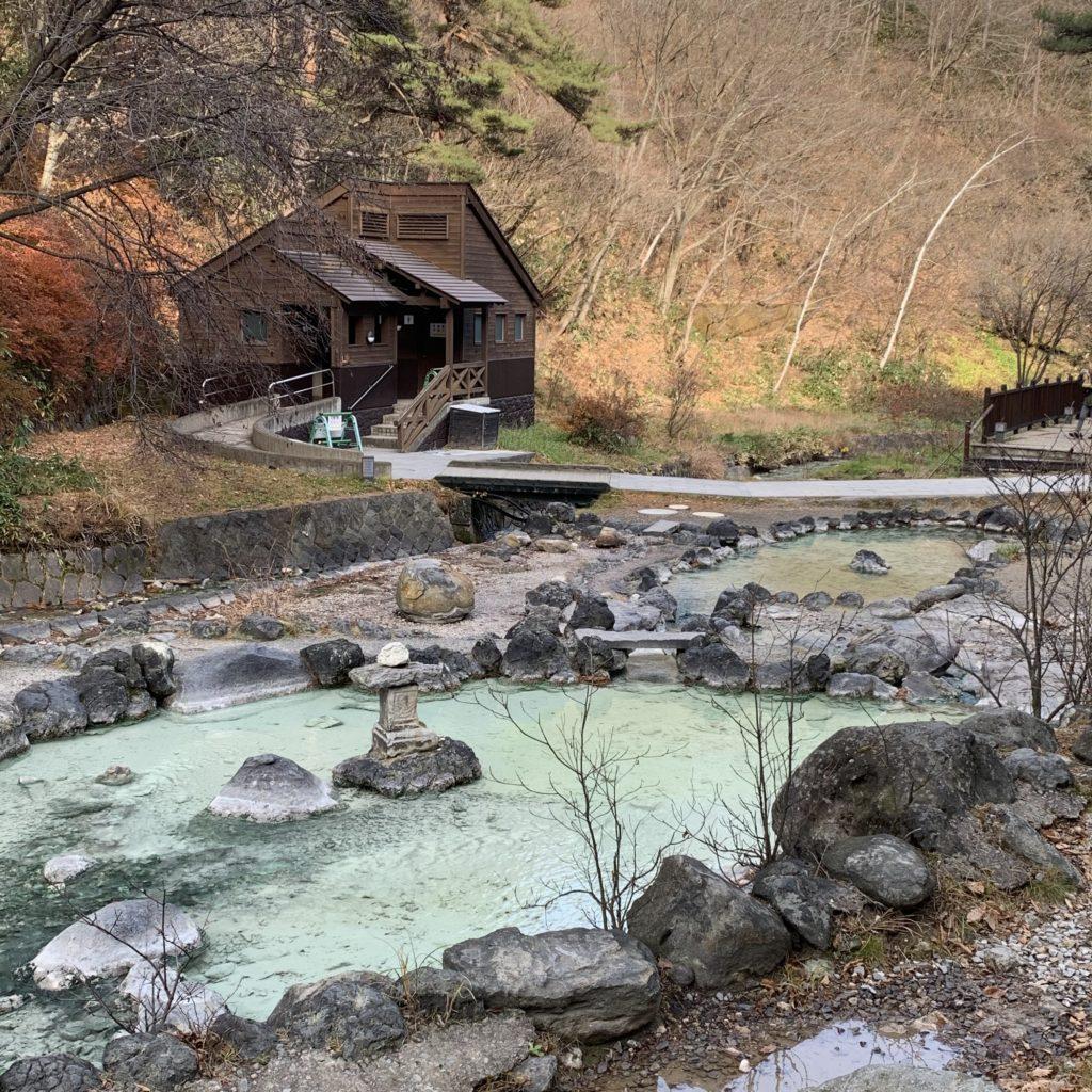 西の河原公園の池