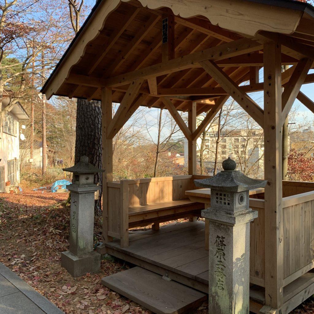 草津温泉の白根神社