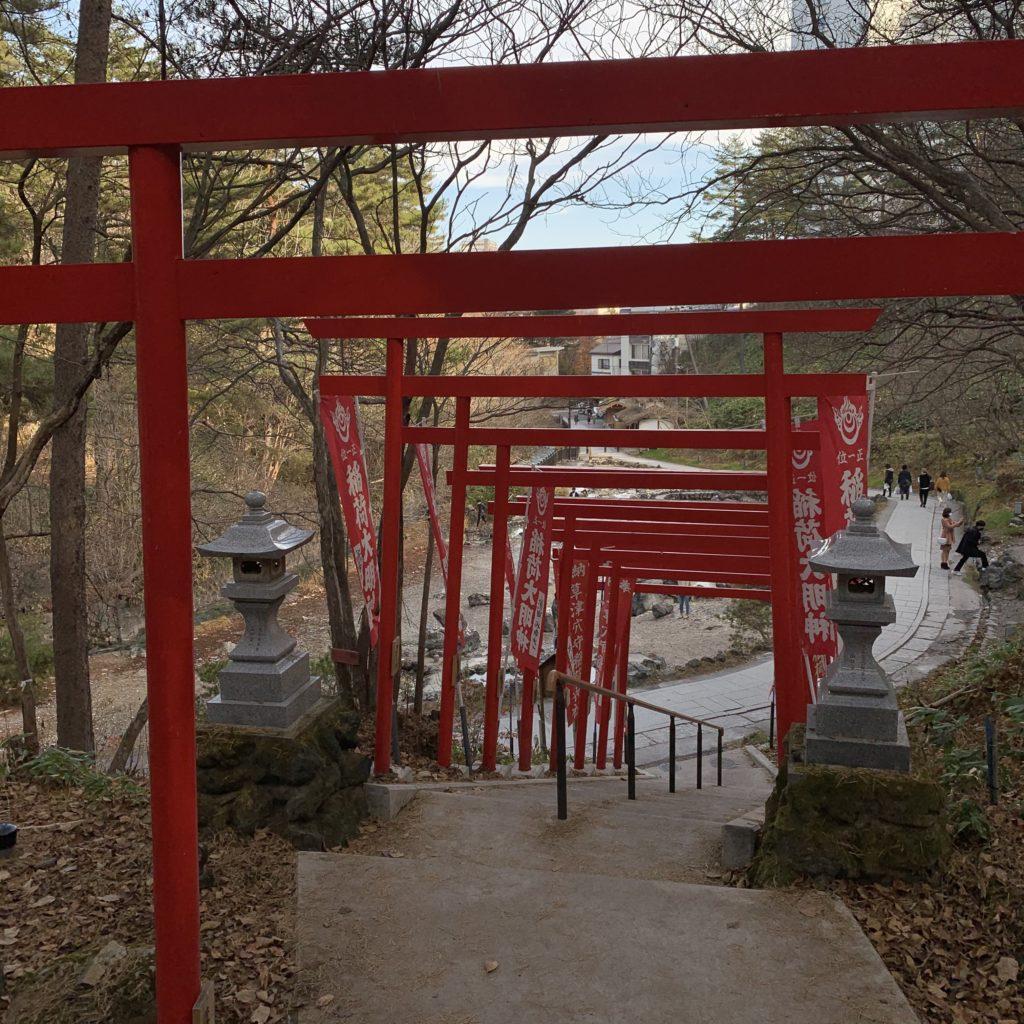 西の河原公園穴守稲荷神社