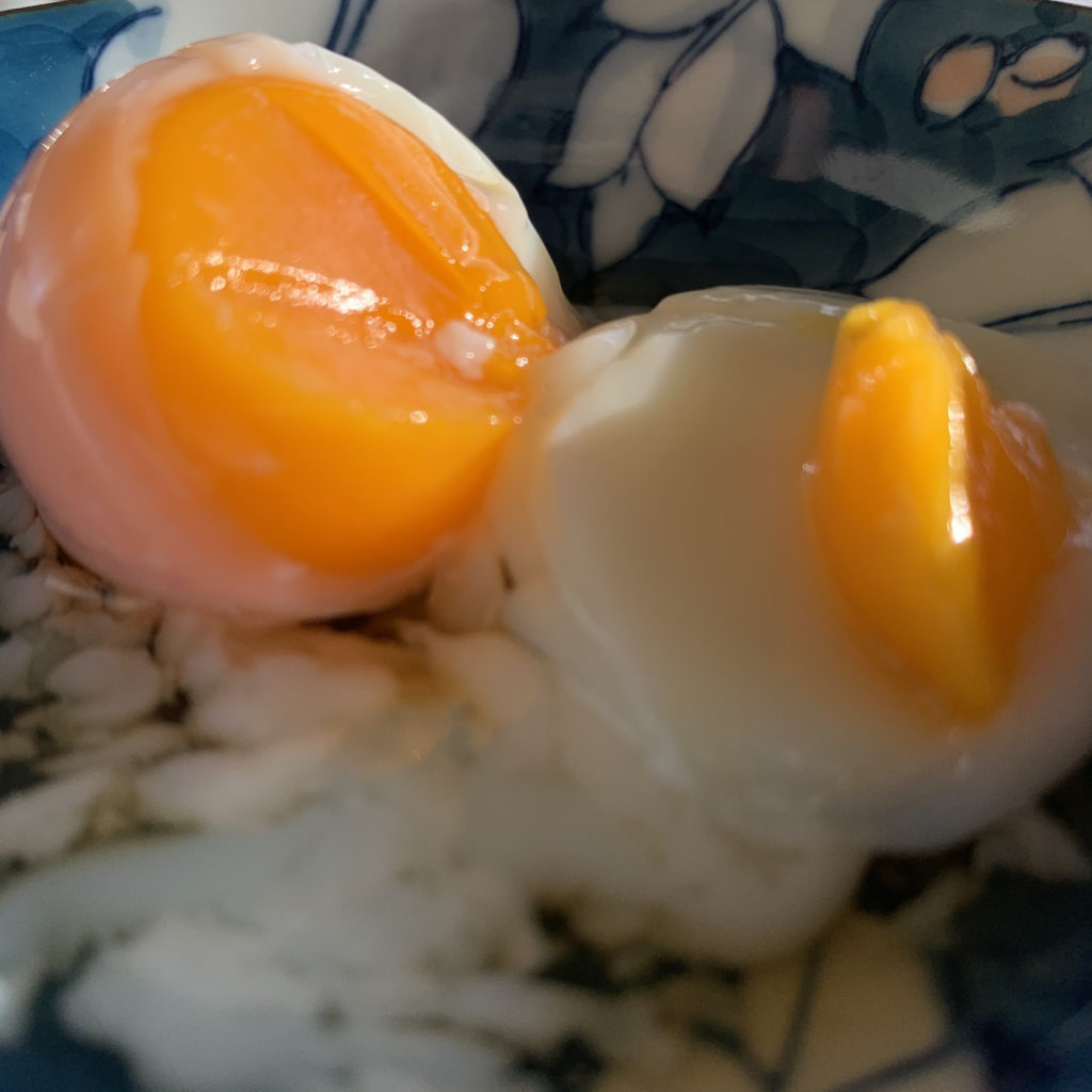 頼朝の温泉卵