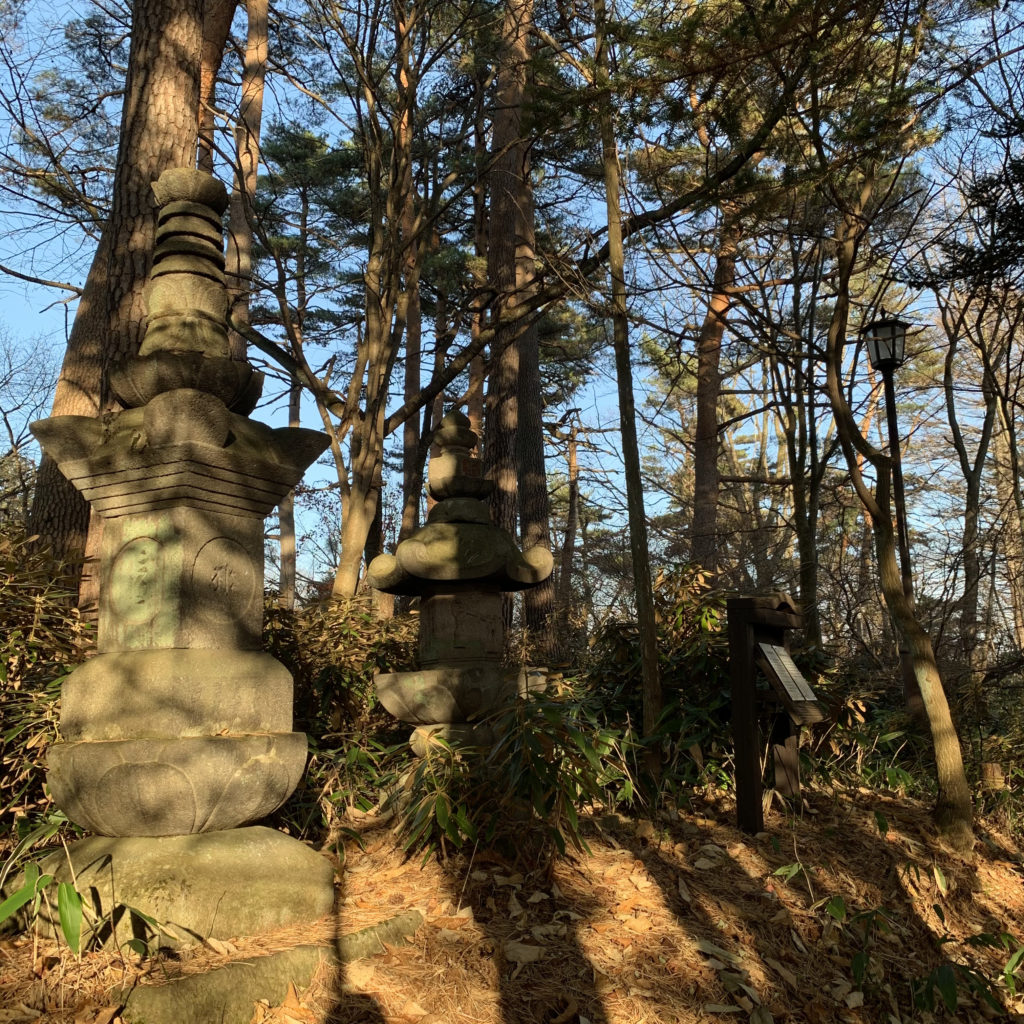 六角石憧供養塔