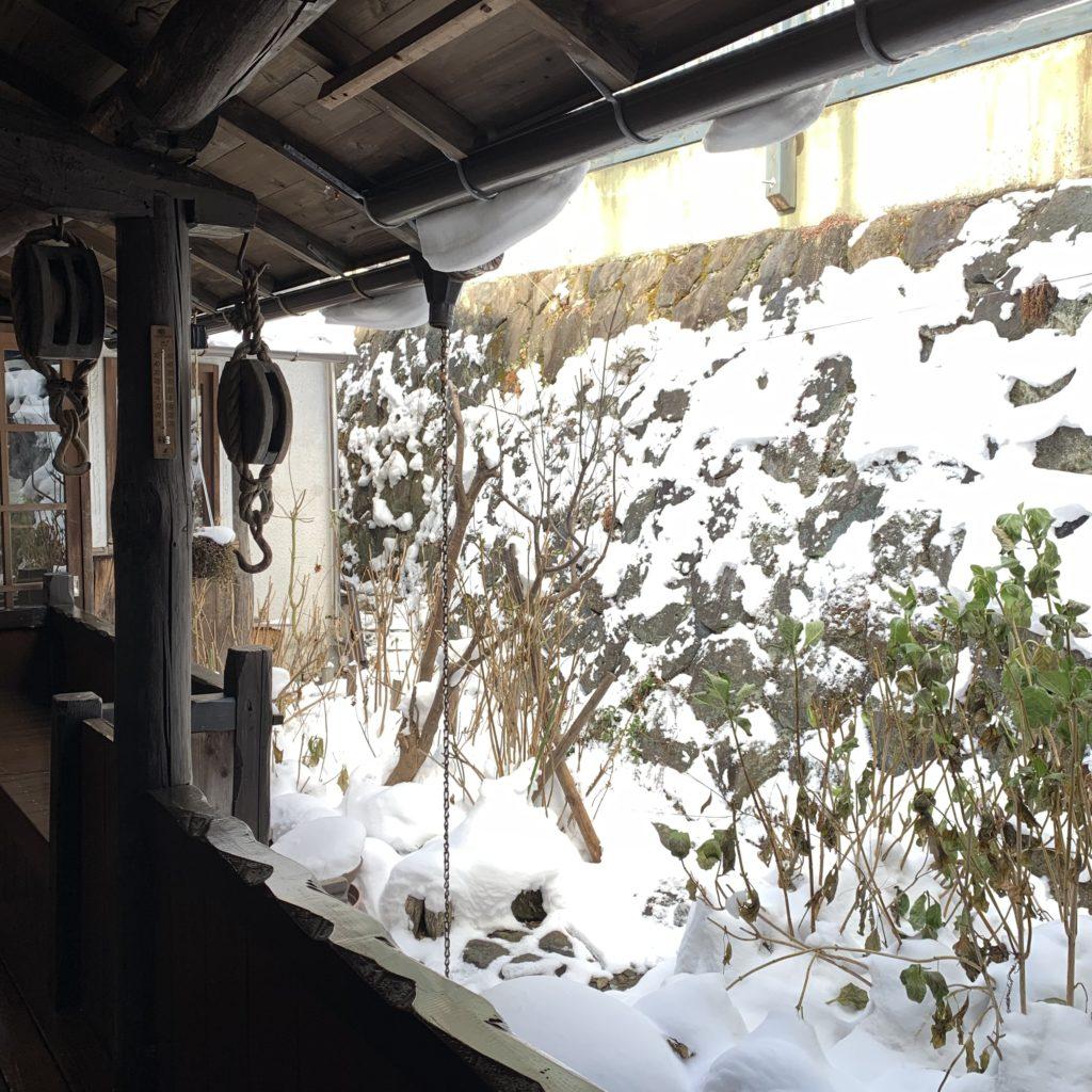 極楽館の渡り廊下