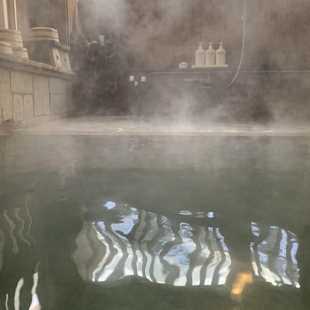 極楽館の貸切風呂(極)