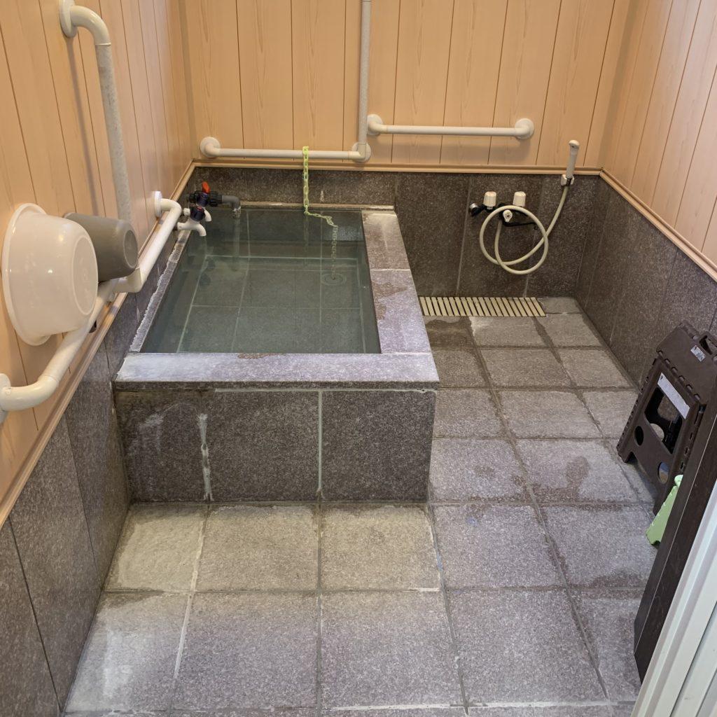 たいらの湯の浴室