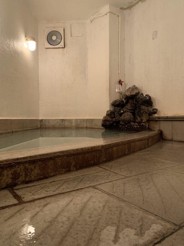 飯島館の大浴場