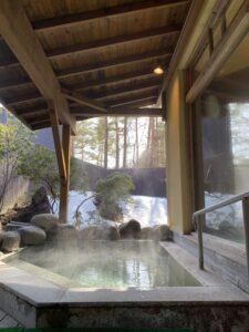 草津スカイランドホテルの露天風呂