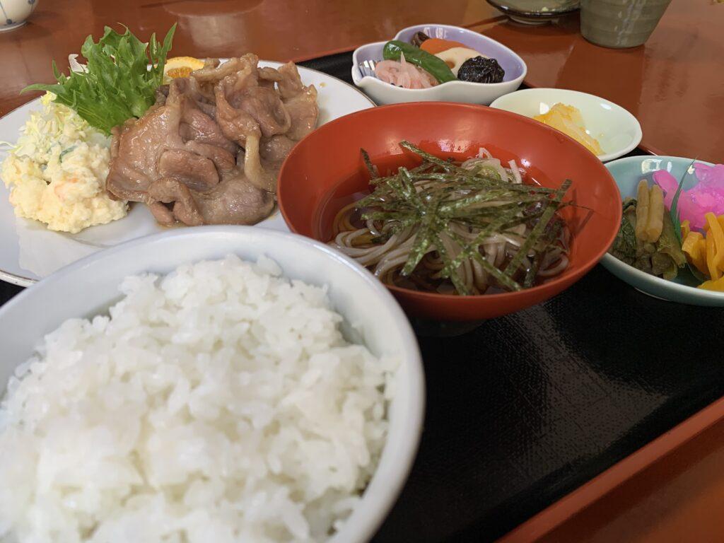 松美の生姜焼き定食