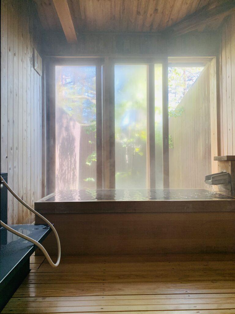 草津スカイランドホテルの湯檜