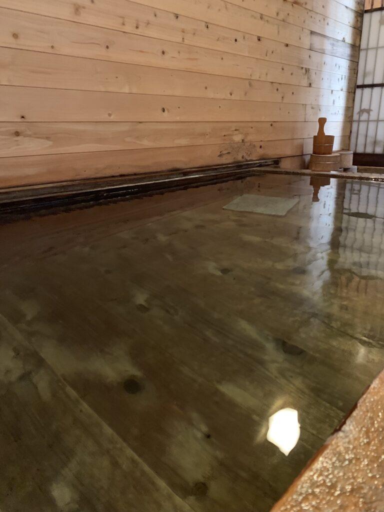 ひのき亭 牧水の浴場