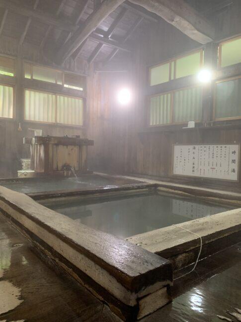 草津温泉の時間湯