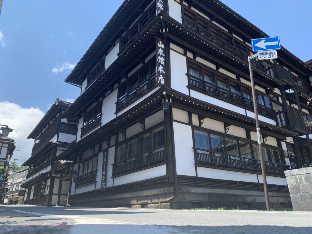 山本館の建物外観