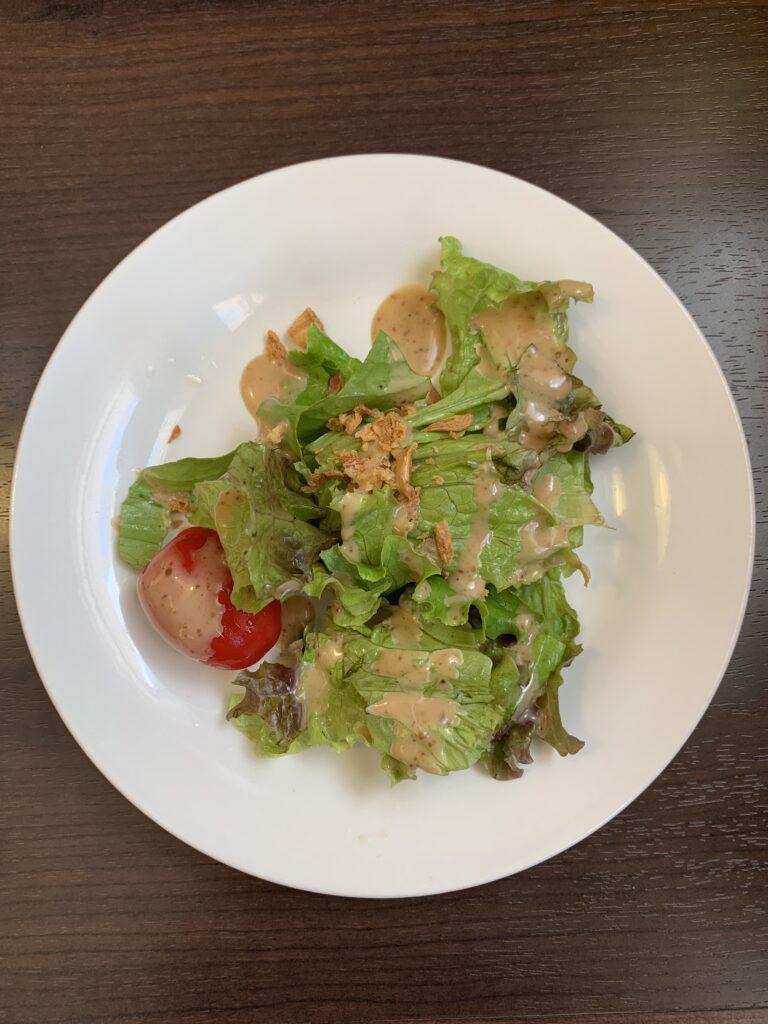 花栞の前菜のサラダ